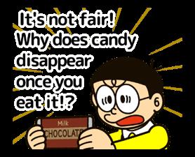 Doraemon ਦੀ ਕਹਾਵਤ ਸਟਿੱਕਰ 1