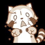 Rascal og Lily: Vaskebjørne i Kærlighed klistermærker 1