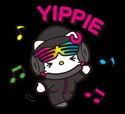 DJ Hello Kitty的贴纸 1