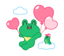 LINE Characters: Pastel Cuties Stickers 1