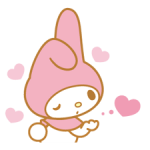 My Melody 2 Stickers 1