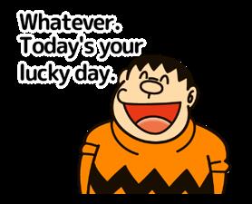Doraemon ਦੀ ਕਹਾਵਤ ਸਟਿੱਕਰ 10