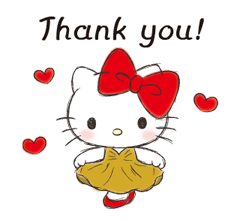 Hello Kitty Polite Stickers 10