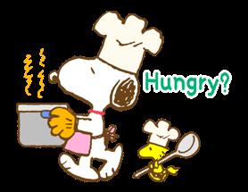 Super jarní Snoopy Nálepky 10