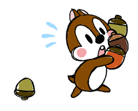 Chip 'n' Dale: Properly Cute Stickers 10