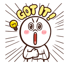 LINE Characters: Pretty Phrases Stickers 10