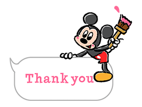 Lovely Mickey and Minnie Stickers 10