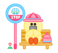 LINE Characters: Pastel Cuties Stickers 10