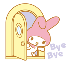 My Melody 2 Stickers 10