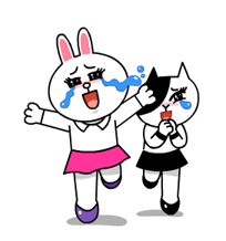 Cony and Jessica: Girls Night Out Stickers 10