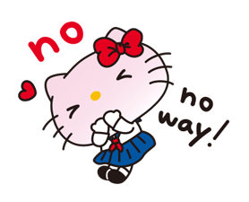 Hello Kitty: Simple and Sweet Stickres 11