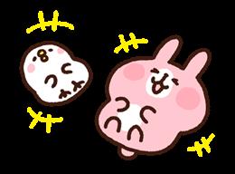 Kanahei's Piske & Usagi Come to Life! Stickers 11