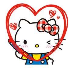 Hello Kitty Lovely Stickers