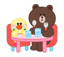 LINE Characters: Pastel Cuties Stickers 11