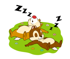 Chip 'n' Dale 2 Stickers 11