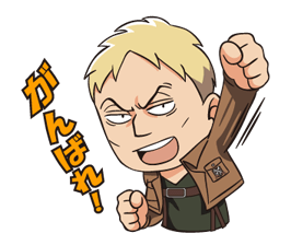 Attack on Titan Stickers 11
