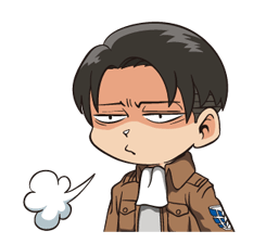 Attack on Titan Stickers 24