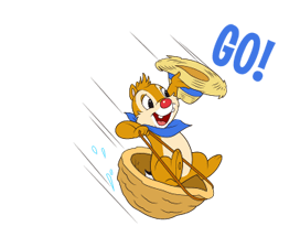 Chip 'n' Dale Summer Delight Stickers 12