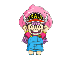 Dr.Slump -Arale Stickers 12
