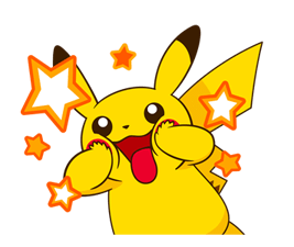 Pikachu Stickers ♪ 23