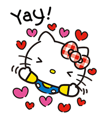 Hello Kitty Lovely Stickers 12