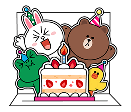Brown Cony Greeting 12