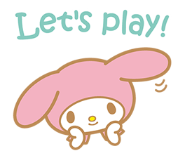 My Melody Stickers 11
