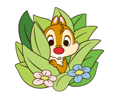 Chip 'n' Dale 2 Stickers 12