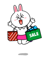 Cony and Jessica: Girls Night Out Stickers 12