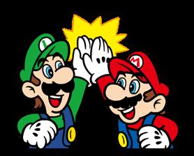 Talking Super Mario Stickers