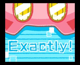 Kirby's Puffball Sticker Set 13