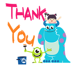 Monsters, Inc. Stickers 13