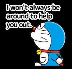 Doraemon ਦੀ ਕਹਾਵਤ ਸਟਿੱਕਰ 13