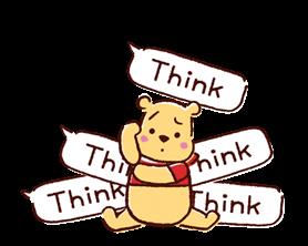 Winnie the Pooh Μπαλόνια Αυτοκόλλητα Ομιλία 13