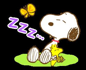 Super jarní Snoopy Nálepky 13
