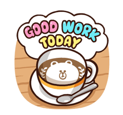 LINE Characters: Pretty Phrases Stickers 13