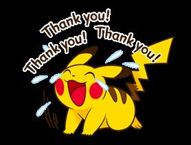 Pikachu สติ๊กเกอร์♪ 24