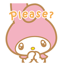 My Melody Stickers 12