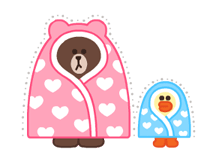 LINE Characters: Pastel Cuties Stickers 13