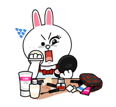Cony and Jessica: Girls Night Out Stickers 13