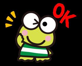 KEROKEROKEROPPI for Formal Occasions Stickers 14