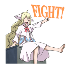 FAIRY TAIL Action Stickers! 14