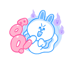 LINE Characters: Cute and Soft Summer Stickers 14