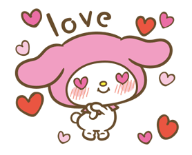 My Melody: Sweet as Can Be! Stickers 19