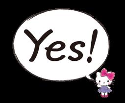 Hello Kitty Polite Stickers 15