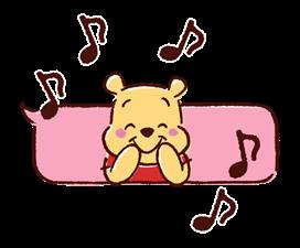 Winnie the Pooh Μπαλόνια Αυτοκόλλητα Ομιλία 15