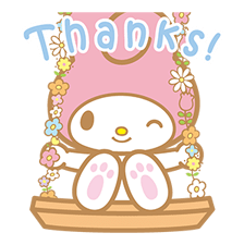 My Melody Stickers 14