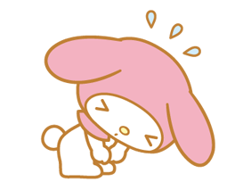 My Melody 2 Stickers 15
