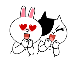 Cony and Jessica: Girls Night Out Stickers 15