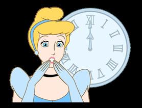Disney Princess Cute Stickers 16